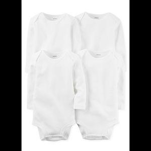 Carter's 4 piece bodysuits